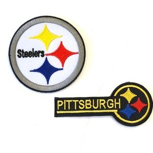 Pittsburgh Steelers Patch Iron On NFL Football DIY